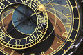 Prague orloj (astronomical clock) Royalty Free Stock Photo