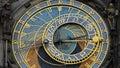 Prague orloj, astronomical clock, Praha, Czech republic Royalty Free Stock Photo
