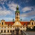 Prague pilgrim place Loreta Royalty Free Stock Photo