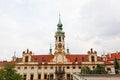 Prague pilgrim place Loreta Royalty Free Stock Photos