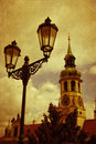 Prague pilgrim place loreta czech republic a of pilgrimage in Royalty Free Stock Photo