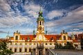 Prague pilgrim place loreta the famous Royalty Free Stock Photo