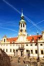 Prague pilgrim place loreta the famous Royalty Free Stock Images