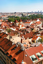 Prague Roof tops Stock Image