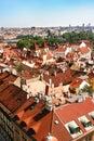 Prague Roof tops Stock Image