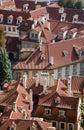 Prague - roofs Royalty Free Stock Photos