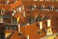 Prague rooftops Stock Photos