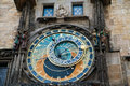 Prague's Astronomical Clock Stock Photography