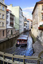 Prague's canal Stock Photo