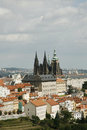 Prague Skyline Royalty Free Stock Photos