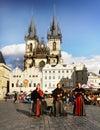 image photo : Prague Square People Music