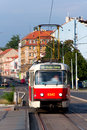 Prague tram Royalty Free Stock Photo