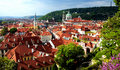 Prague - view of the historic city Royalty Free Stock Photo