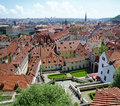 Prague With View Over The Lede...