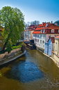 Prague watermill Fotografia Royalty Free