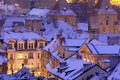 Prague in winter Royalty Free Stock Photography