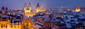 Prague At Winter Time