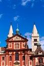 Praha czech republic church at Royalty Free Stock Images