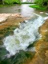 Prairie Creek Falls Illinois Royalty Free Stock Photo