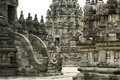 Prambanan temple architecture java Stock Photo