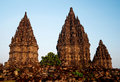 Prambanan temple in yogyakarta java indonesia Stock Photography