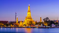 Prang of wat arun bangkok thailand Stock Image