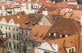 Praque cityscape of prague city skyline Royalty Free Stock Photos
