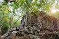 Prasat Beng Mealea in Cambodia Royalty Free Stock Photo