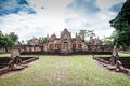 Prasat hin muang tum buriram thailand Royalty Free Stock Photos