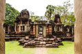 Prasat hin pimai thailand khmer art Royalty Free Stock Photos