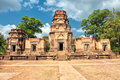 Prasat kravan cambodia siem reap – march tourist enters in siem reap is a small th century hindu temple in angkor Royalty Free Stock Photos