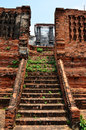 Prasat nakhon luang ruin of ayutthaya thailand situated on the east bank pa sak river tambon it was used as the royal Stock Photo