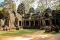 Prasat ta prohm in siem reap cambodia Royalty Free Stock Images