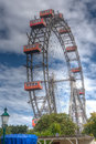 Prater wheel Vienna, Austria Royalty Free Stock Photo