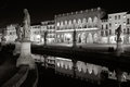 Prato della valle a night view of Royalty Free Stock Images