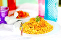 Prawn biryani indian or jinga Royalty Free Stock Photography