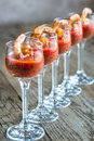 Prawn cocktails Royalty Free Stock Photo