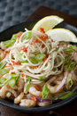 Prawn noodle Royalty Free Stock Images