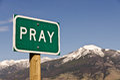 Pray Royalty Free Stock Photo