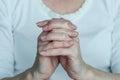 Pray gesture