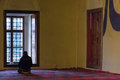 Pray in Mosque Royalty Free Stock Photo