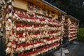 Pray pavilion china jiangsu suzhou lingshan temple Royalty Free Stock Photos