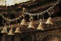 Prayer bells Royalty Free Stock Photo