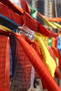 Prayer flag Royalty Free Stock Photography