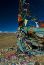Prayer flags in Tibet Stock Images