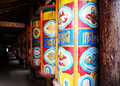 Prayer wheel Royalty Free Stock Images