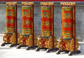 Prayer wheels Royalty Free Stock Photos