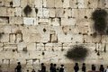 Prayers western wall one most sacred places to jewish religion Royalty Free Stock Image