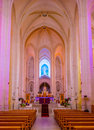 The praying hall Royalty Free Stock Photo