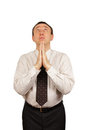 Praying man Royalty Free Stock Photography